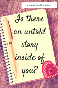 Is there an untold storyinside you-