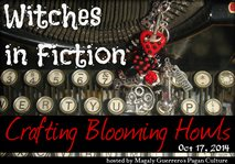 Witches in Fiction 2014, Button