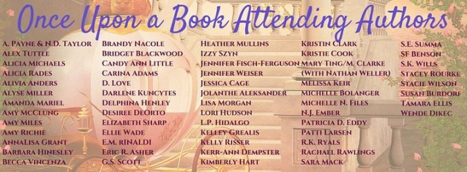 Look at all the amazing authors! Credit to: Jaime.